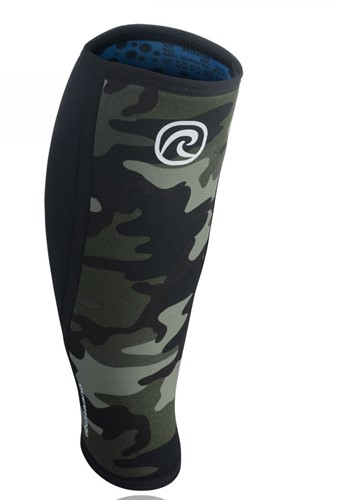 Rehband Shin/Calf Support RX 5MM - Black/Camo