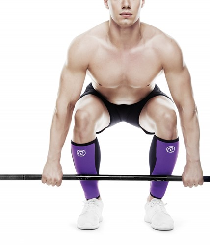 Rehband Shin/Calf Support RX 5MM Black/Purple