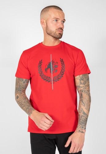 Gorilla Wear Rock Hill T-Shirt - Rood