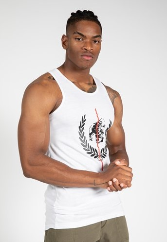 Gorilla Wear Rock Hill Tank Top - Wit