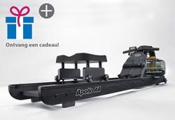First Degree Fitness Apollo Hybrid Rower AR Black - Gratis montage
