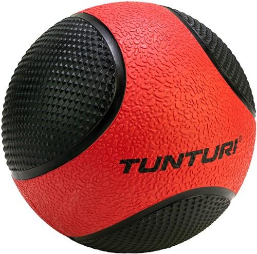 Tunturi Medicijnbal - Rubber - 3 kg - Rood/Zwart