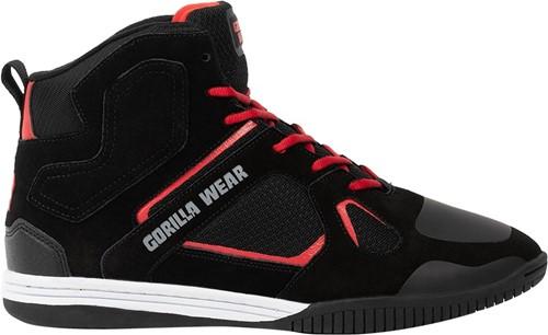 Gorilla Wear Troy High Tops Sportschoenen - Zwart/Rood