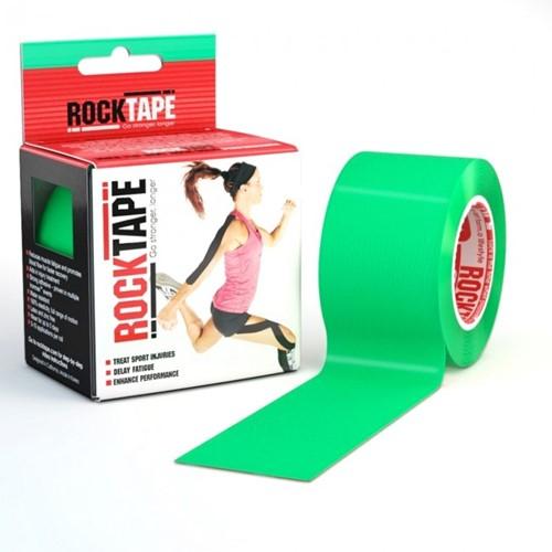 RockTape Classic Kinesiotape - Sporttape - 5 cm x 5 m - Groen