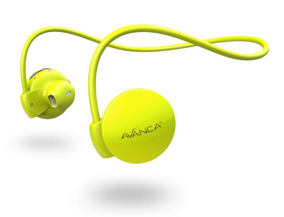 Afbeelding van Avanca S1 Sports Headset - Neon Yellow