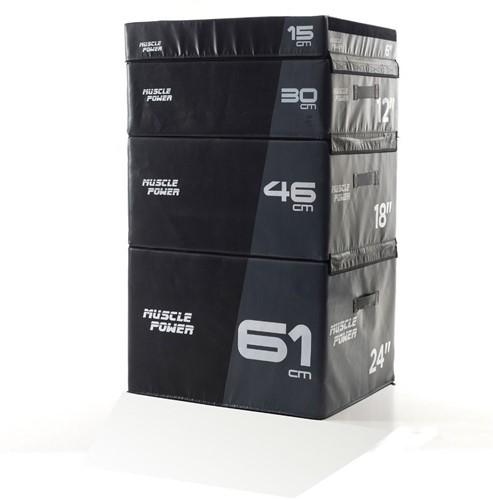 Muscle Power Safe Plyo Plyo Box Set