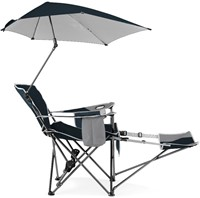 Sport-Brella Recliner Chair - Blue-2