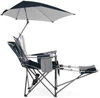 Sport-Brella Recliner Chair - Blue-3