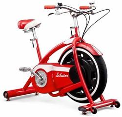 Schwinn Classic Cruiser Retro Bike Hometrainer- met Bluetooth en Zwift - Gratis montage