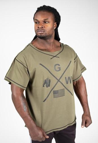 Gorilla Wear Sheldon Workout Top - Legergroen