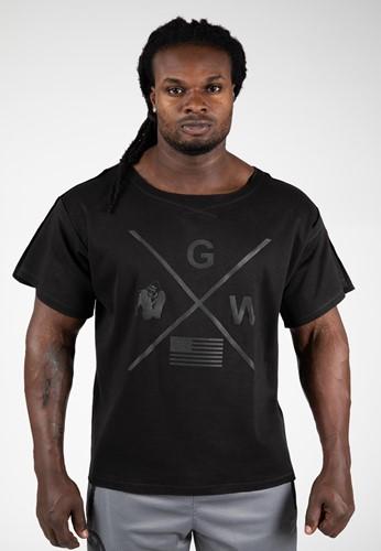Gorilla Wear Sheldon Workout Top - Zwart