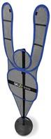 SKLZ D-Man Verdedigingspop - Blue-2