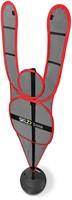 SKLZ D-Man - Verdedigingspop - Red-2