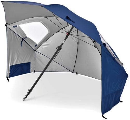 Sport-Brella Premiere Strandtent - Windscherm - Parasol - Blauw