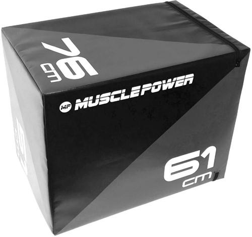 Muscle Power Soft Plyo Box - Zwart