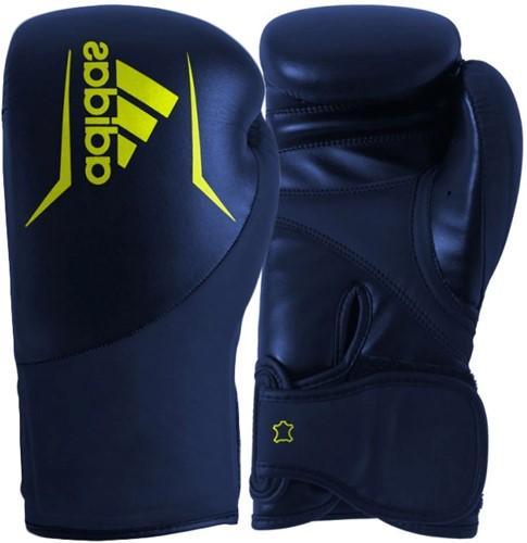 Adidas Speed 200 (Kick)Bokshandschoenen - Blauw/Geel