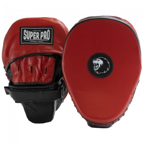 Super Pro Light Weight Gebogen Hook and Jab PU Handpads