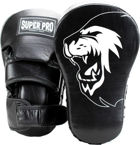 Super Pro Combat Gear Focus Lederen Handpads - Extra lang