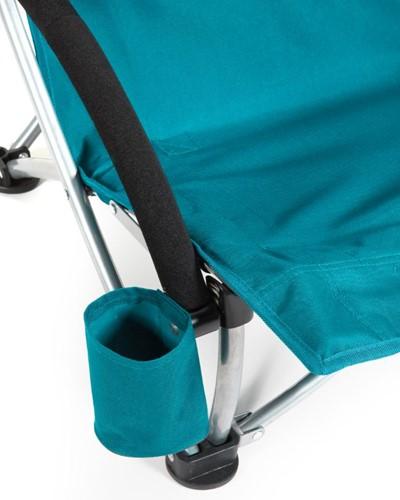 Sport-Brella Campingstoel - Strandstoel met Parasol - Lichtblauw-3