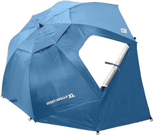 Sport-Brella  Strandtent - Windscherm - Parasol XL - Lichtblauw-2