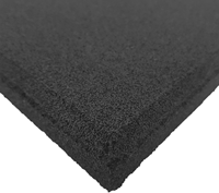 Sportvloer Tegel met Fijne Korrel - 100 x 100 x 1,5 cm - Zwart-2