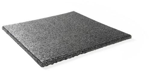 Sportvloer Tegel - 100 x 100 x 4,5 cm - Zwart