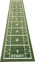 Sprinttrack Kunstgras - 1050 x 200 x 1,6 cm - Groen