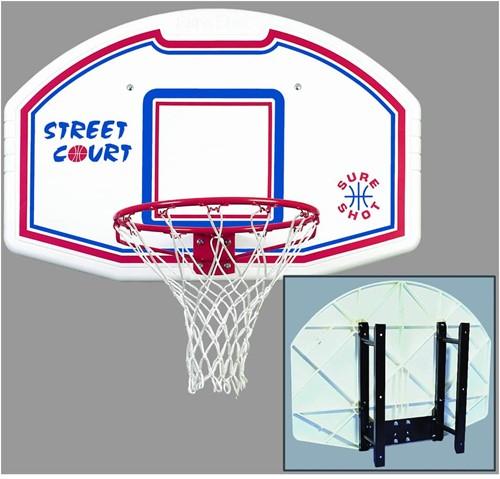 Sureshot Bronx Basketbalbord met Muursteun