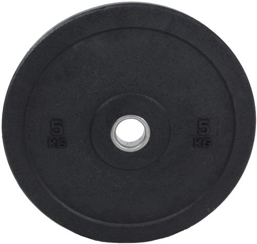 Lifemaxx Hi-Temp Olympische Halterschijf - 50 mm - 5 kg - Zwart