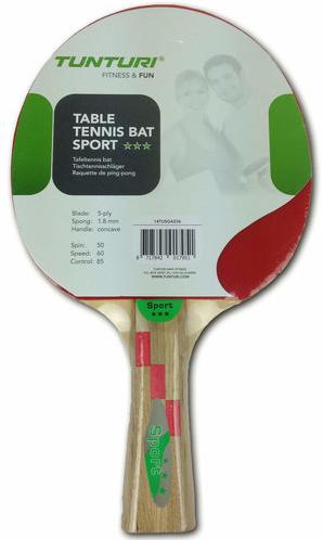 Tunturi Tafeltennis Bat - Sport