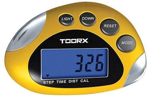 Toorx Multifunctionele Stappenteller - met LCD scherm