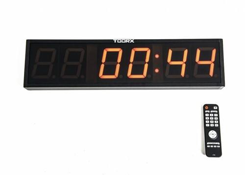 Toorx Interval Tabata Timer - met afstandsbediening