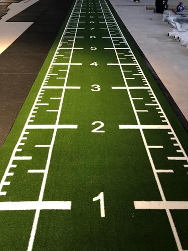 Sprinttrack Kunstgras - 1050 x 200 x 1,6 cm - Groen-3