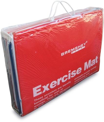 Tunturi PVC Aerobic/Fitnessmat licht beschadigd-3