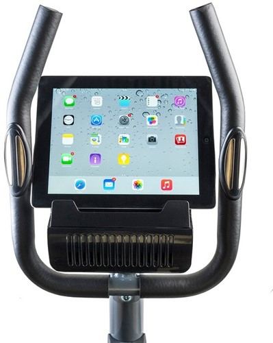 tunturi cardio fit c30 crosstrainer display ipad
