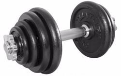 fitnessapparaat.nl-Tunturi Dumbbellset Gietijzer - 1 x 15 kg-aanbieding
