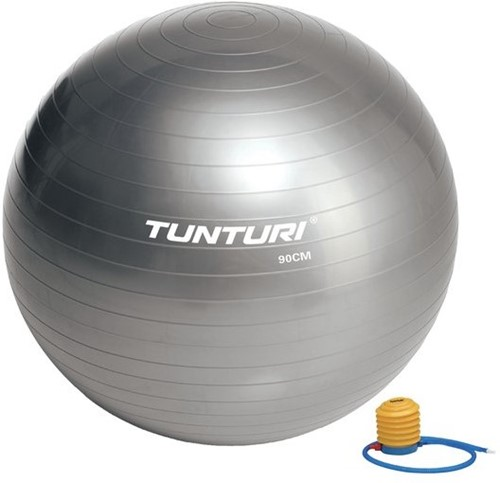Tunturi Fitnessbal Gymbal Grijs - 90 cm