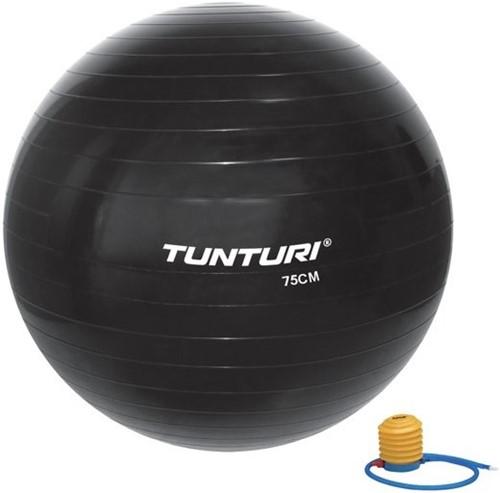 Tunturi Gymball 75cm - Zwart