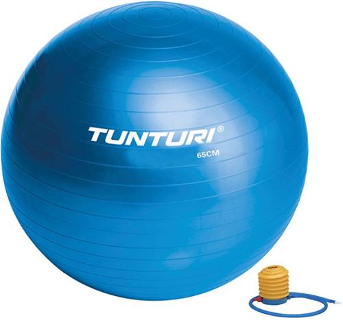 Tunturi Fitnessbal Gymbal Blauw - 65 cm