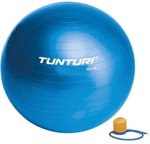 Tunturi Fitnessbal Gymbal Blauw - 90 cm