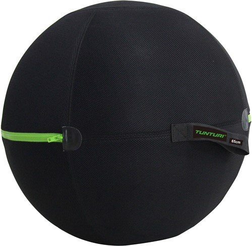 Tunturi Gymball Hoes - 65cm - Met Groene Rits