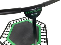 Tunturi Hexa Fitness Trampoline met verstelbare handgreep - Verpakking beschadigd-3