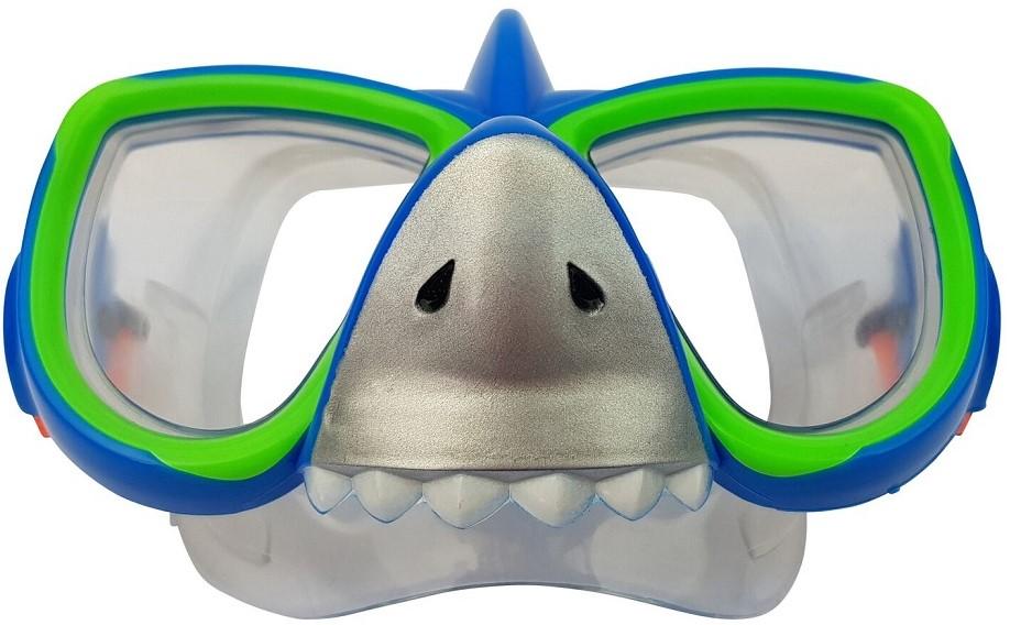 616c7b1e51a216 Tunturi Kinder Duikbril met Snorkel - Shark