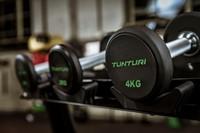 Tunturi PU Pro Dumbbell Set 2-12kg-2