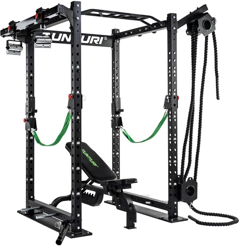 Tunturi RC20 Cross Fit Rack - Multigrip Pull-Up Slider-3