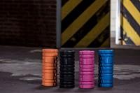 Tunturi Yoga Foam Grid Roller - Oranje-3