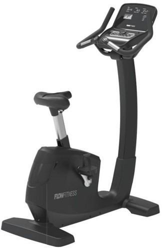 Flow Fitness Pro UB5i Upright Bike Hometrainer - Gratis borstband