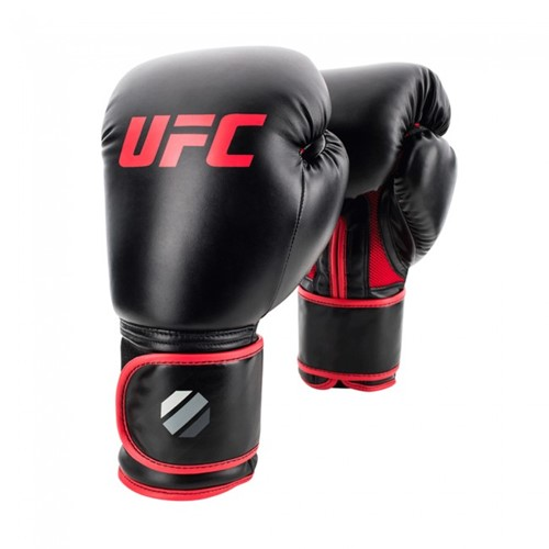 UFC Contender Muay Thai Style (kick)bokshandschoenen - Zwart/Rood