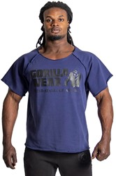 Gorilla Wear Classic Work Out Top - Navy
