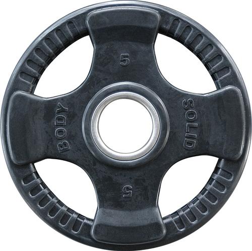 Body-Solid Olympische Rubber Halterschijf - 5 kg